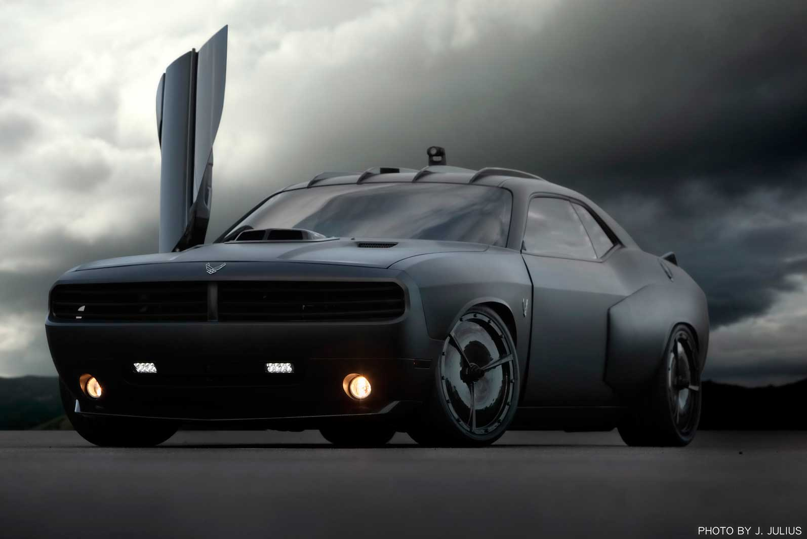 Dodge Challenger Vapor by Galpin Auto Sports - Front Angle