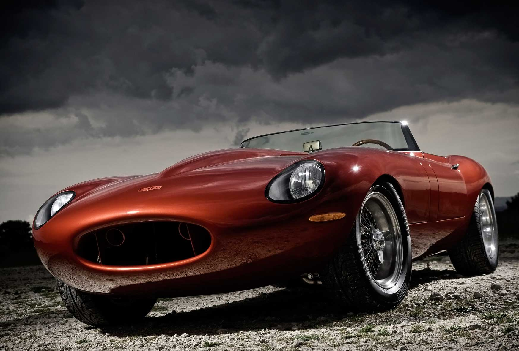 Eagle Jaguar E-Type Speedster - Front Angle