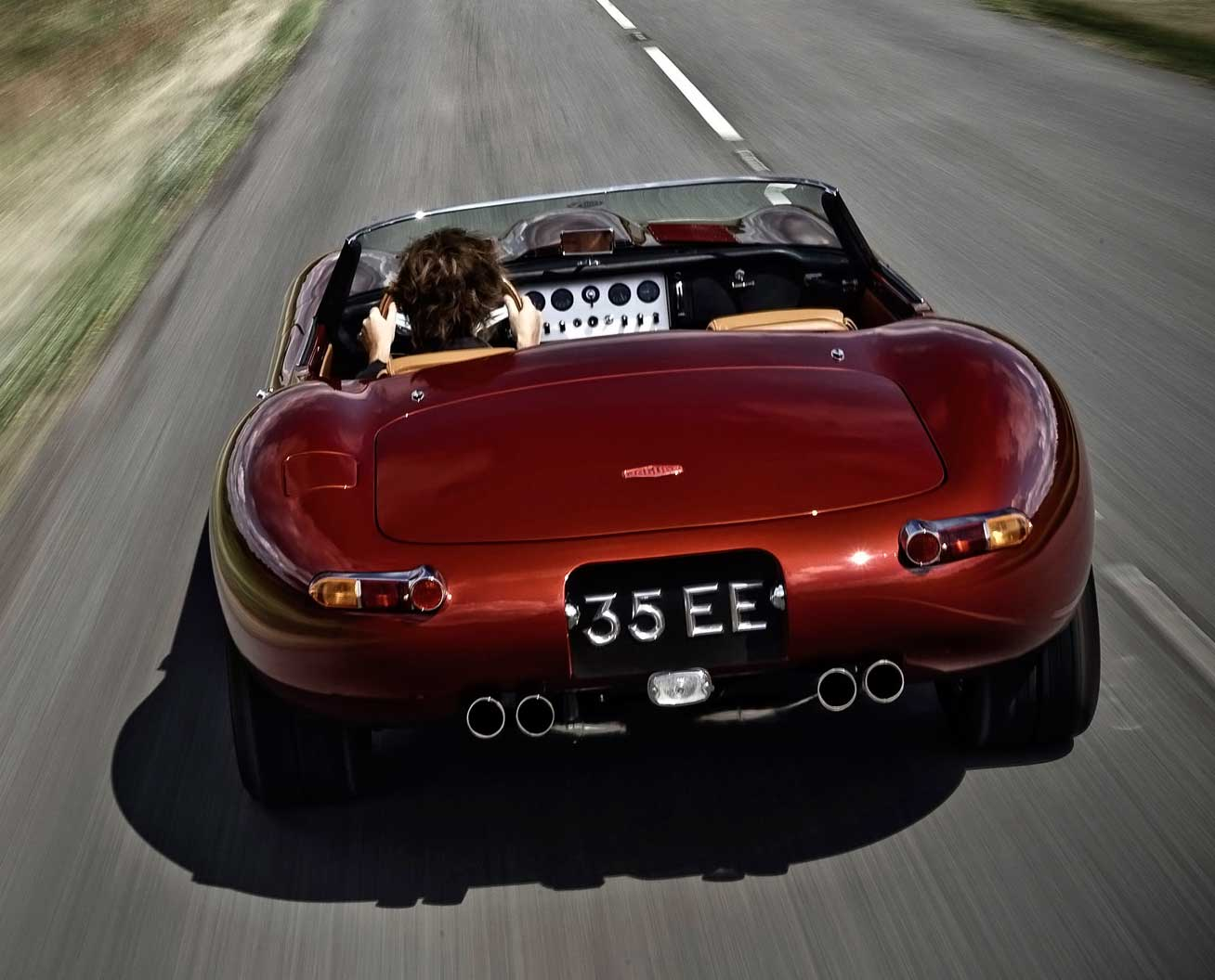 Eagle Jaguar E-Type Speedster - Rear