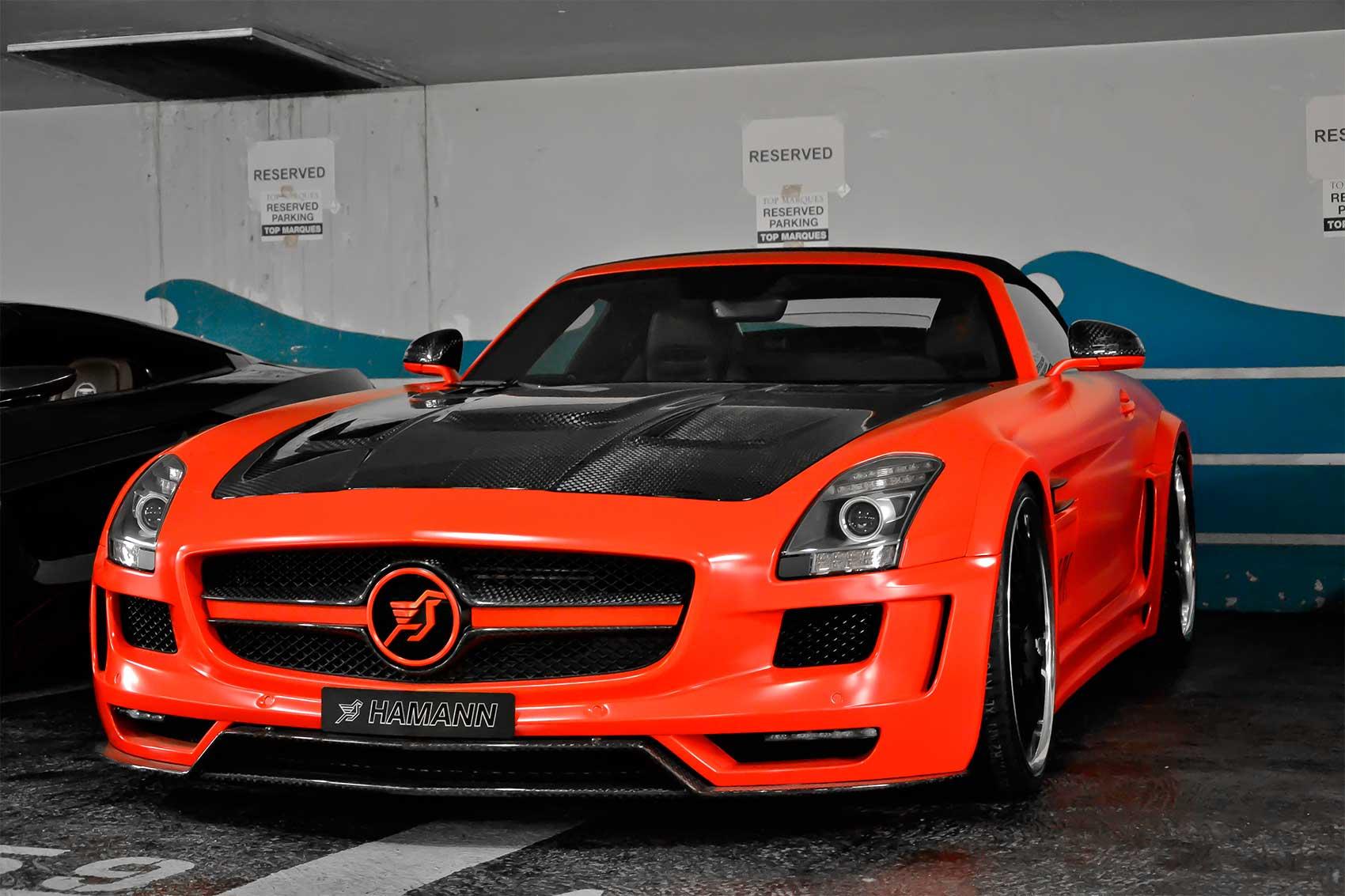 Mercedes-Benz SLS Roadster Hamann