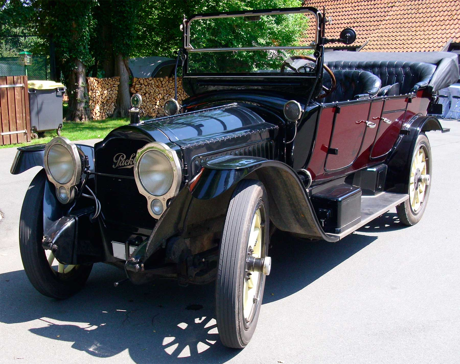 Packard Model 1- 35 Twin-Six Touring