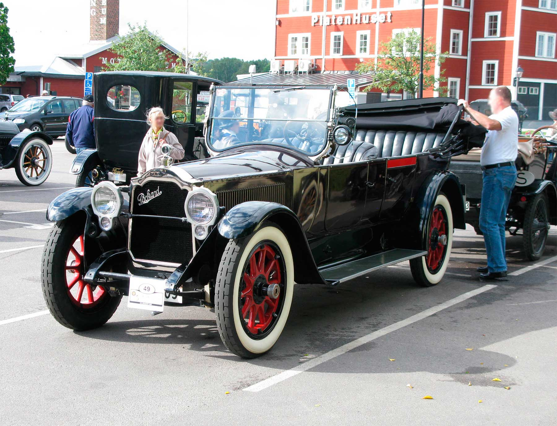 Packard Model 3-35 Twin-Six Touring