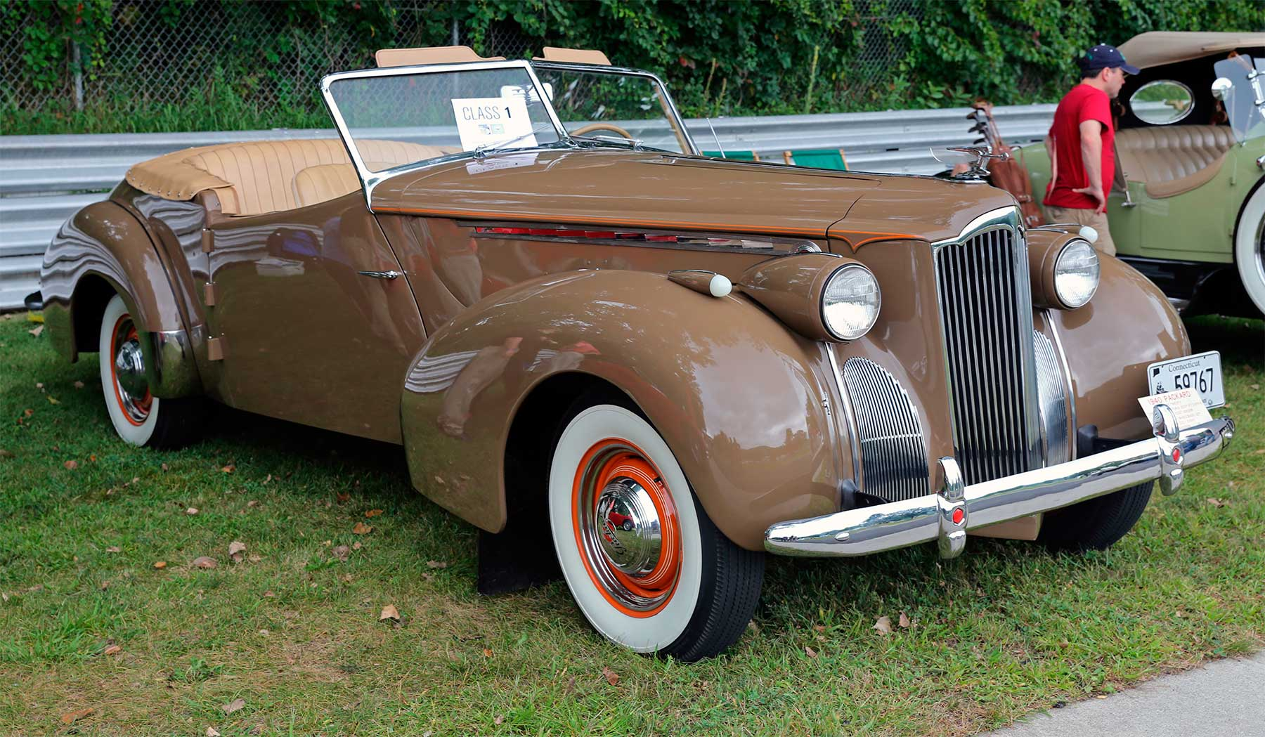 Packard One-Eighty Super Eight Custom Darrin Convertible Sedan