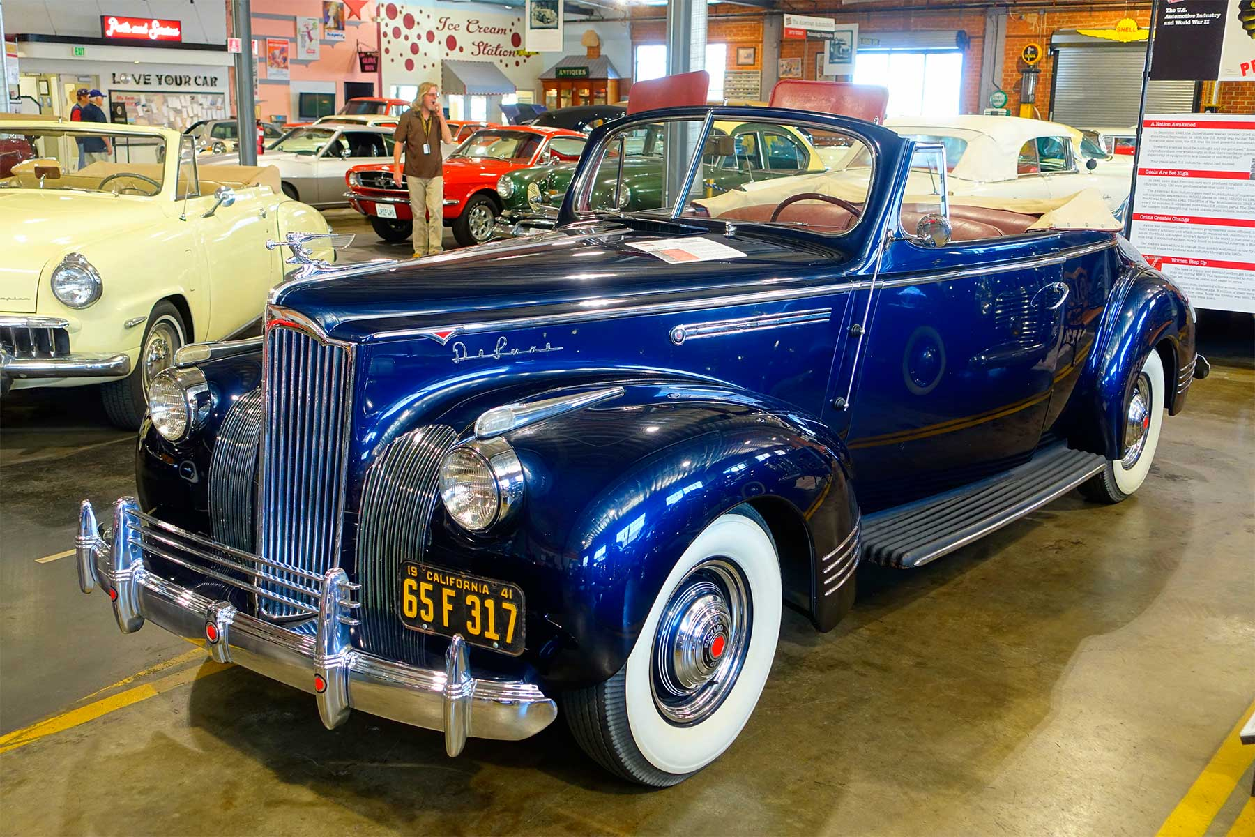 Packard One-Ten Convertible Coupe