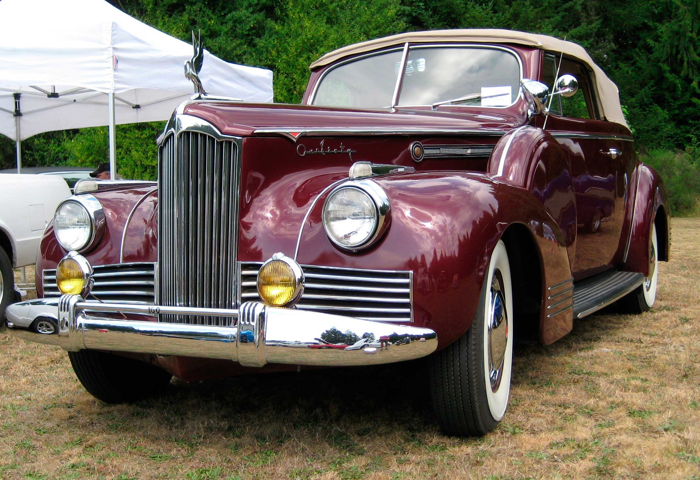 Packard Super Eight One-Sixty Convertible Coupe