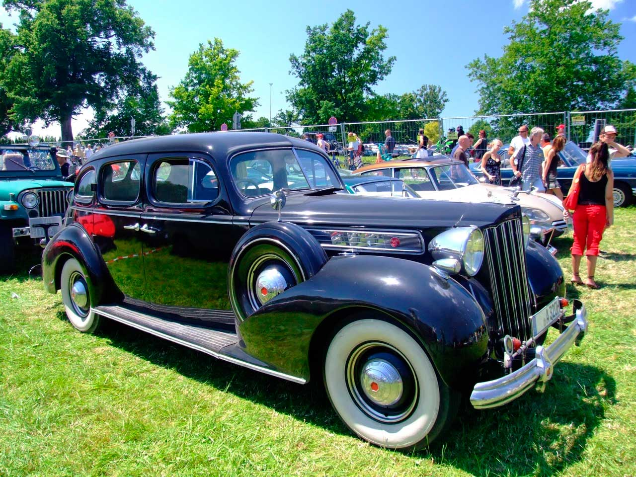 Packard Super Eight Touring Sedan