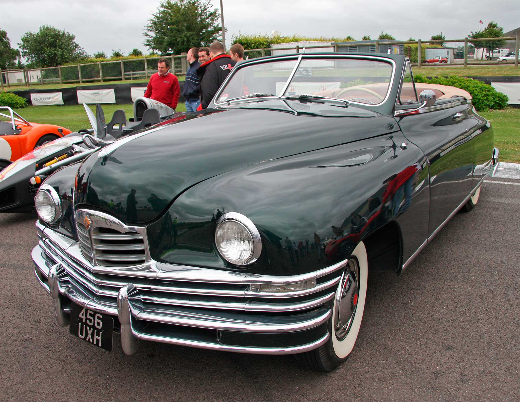 Packard Super Eight Victoria Convertible Coupe - 2279-9