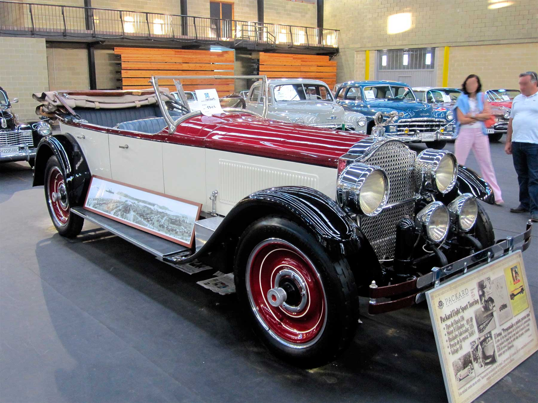 Packard Model 244 Single Eight Touring